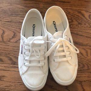 Superga Acot Linea White Sneaker